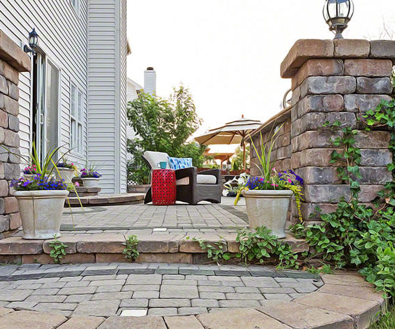 8 Beautiful Brick Patio Patterns You Should Consider